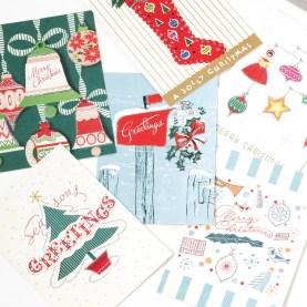 遠くにいるあの人へ…ほっと心が温まるカードの贈り物を。贈る人ももらった人もうれしいFOG LINEN WORKのホリデーメーリングセット ☆ FOG LINEN WORK Cavallini&Co.ホリデーメーリングセット http://goo.gl/IyD61G クリスマスまであと8日...