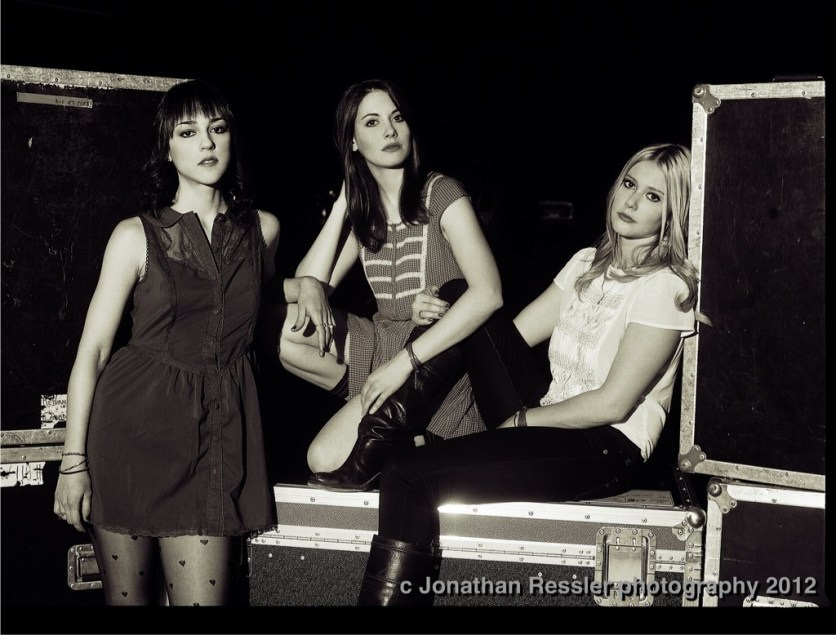 Cyrina Fiallo, Alison Brie, and Julianna Guill
