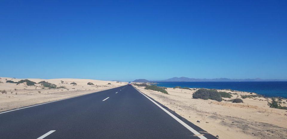 dunes de collajero route - fuerteventura