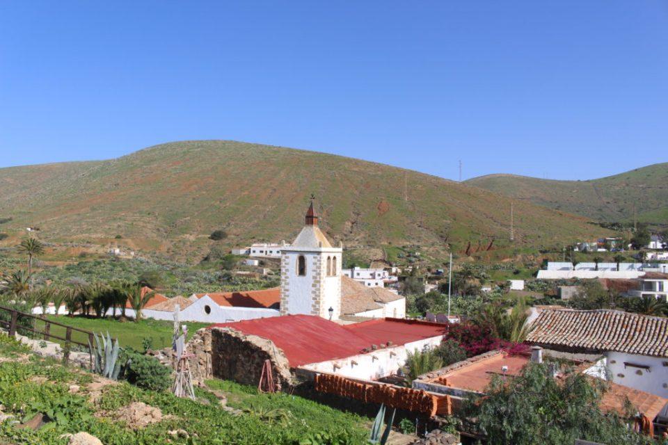 Vue betancuria Fuerteventura