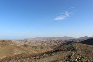 Vue route mirrador de morro velosa Fuerteventura