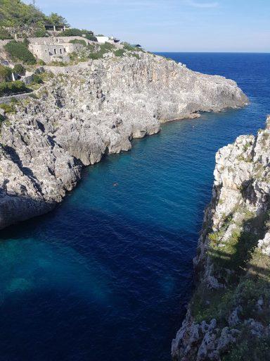 Il Ciolo superbe vue - Pouilles Italie