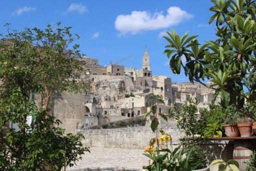 Vue sur le village de Matera - Italie
