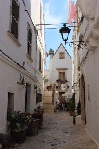 Village de Cisternino - Pouilles Italie