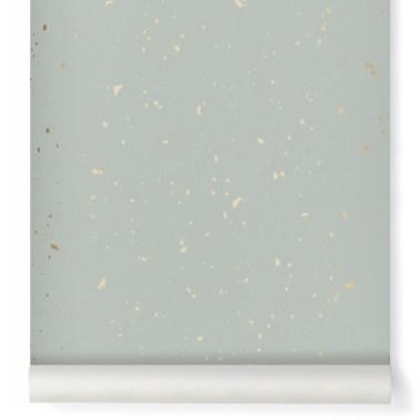 papier-peint-confetti-or