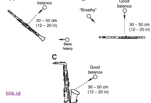 Setting microphone dalam perekaman alat musik String