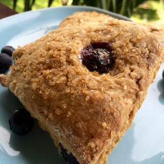 Vegan Blueberry Lemon Scones