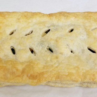 Vegan Mushroom and Spinach Filled Puff Pastry