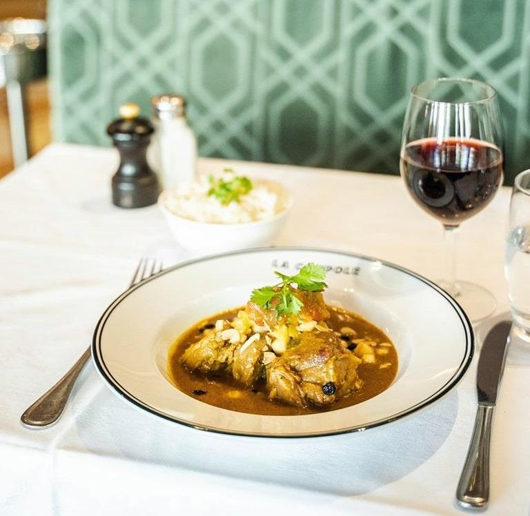 Curry d'agnello La Coupole Parigi