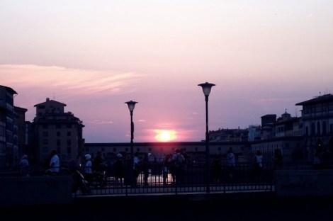 firenze tramonto