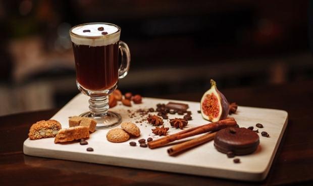 Bevande calde invernali Irish Coffee