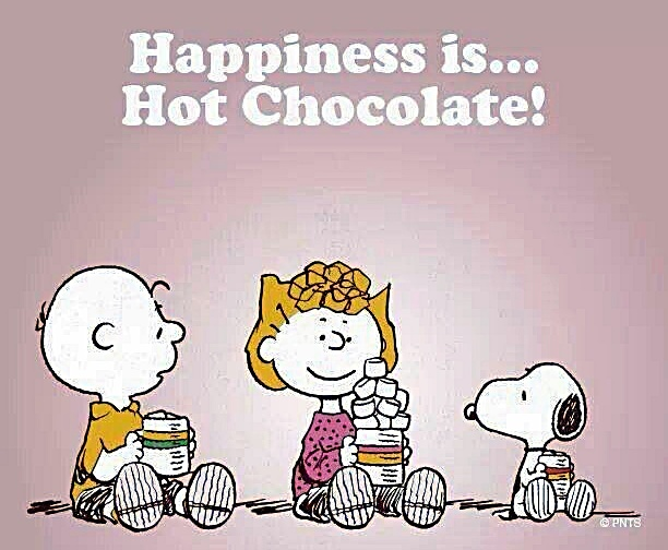 Snoopy cioccolata calda