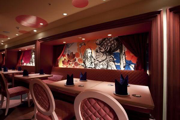 ristoranti letterari alice in magic world Tokyo