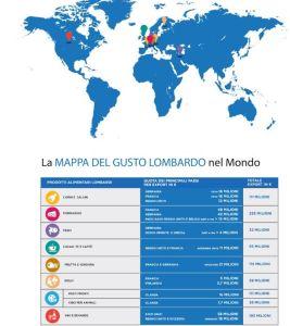 Mappa prodotti lombardi