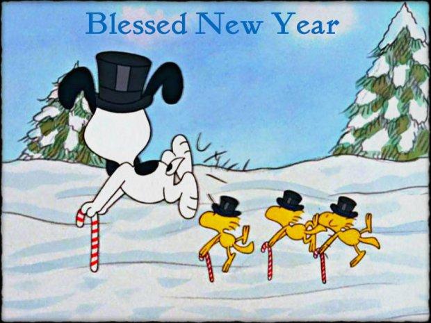 Snoopy buon anno