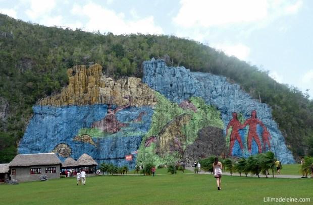 Vinales Cuba mural de la prehistoria