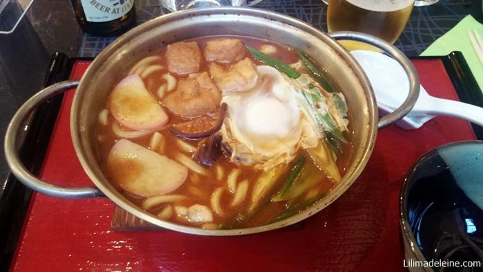 udon in zuppa di miso
