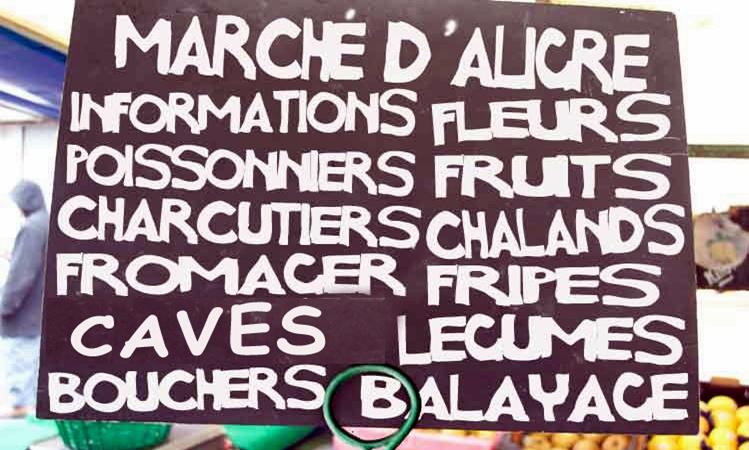 Marché d'Aligre Paris