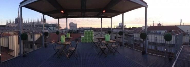 Colazione sui tetti della Galleria Milano