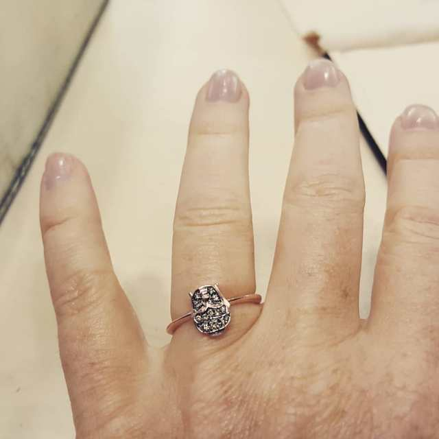Il prossimo anello lo voglio gufesco!    anellihellip