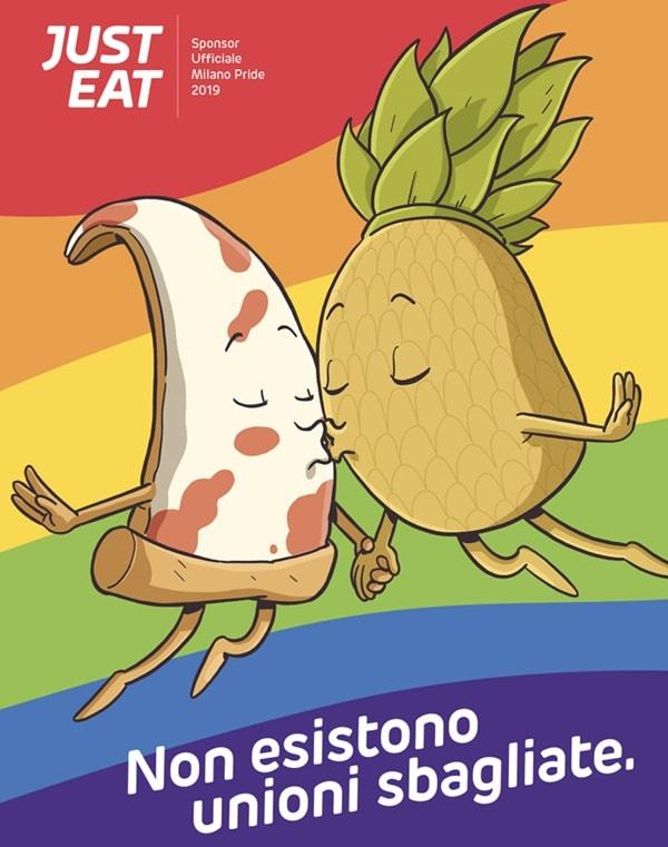 Milano Pride 2019 Just Eat