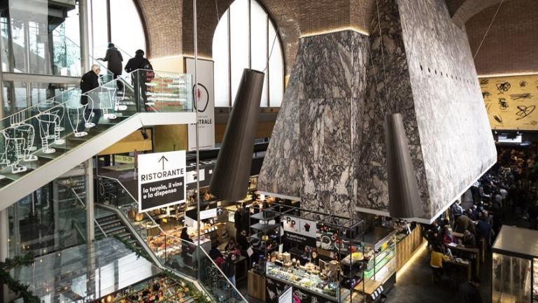 Mercato Centrale Milano stazione centrale
