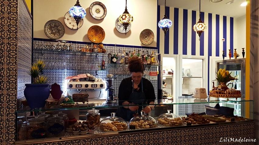 La cucina marocchina di Riad Majorelle Bistrot in Porta Venezia a Milano