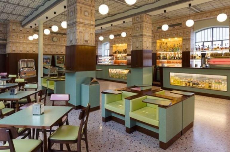 Bar Luce Fondazione Prada Milano