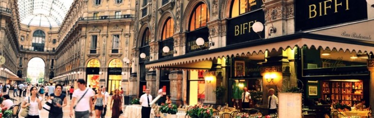 Locali storici Milano Biffi in Galleria