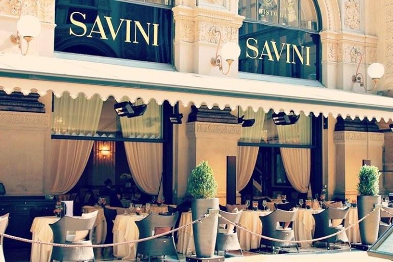 Locali storici Milano Savini