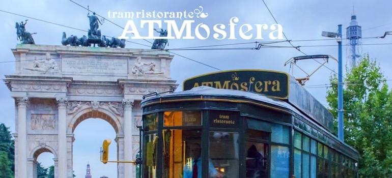 Atmosfera tram ristorante milano
