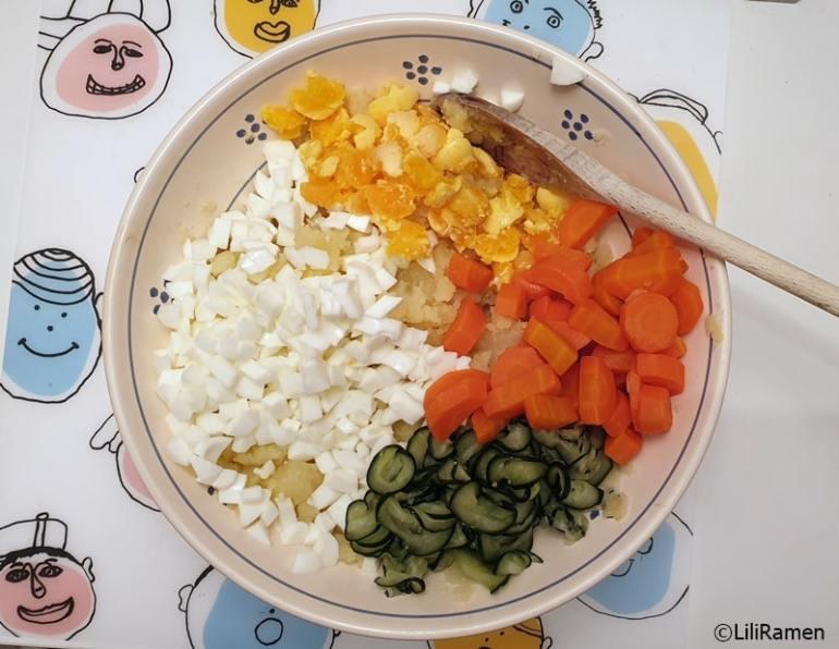 Insalata di patate giapponese ricetta