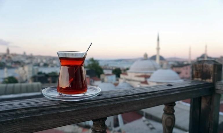 Tipi di te te alla mela turco
