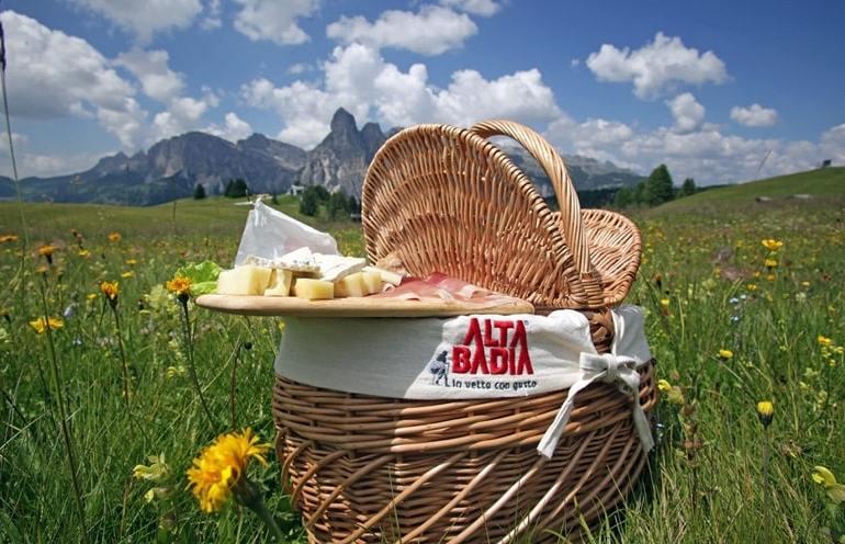 Alta Badia_Picnic in vetta_