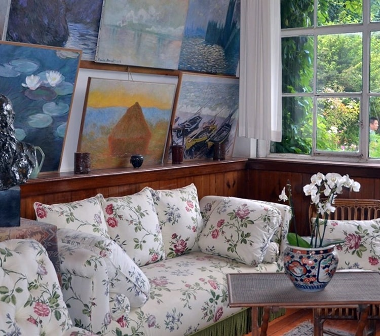 Giverny Monet casa