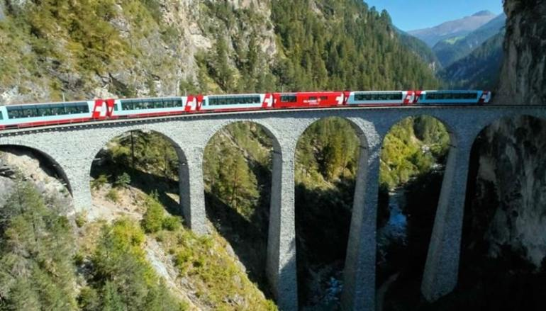 glacier express treno