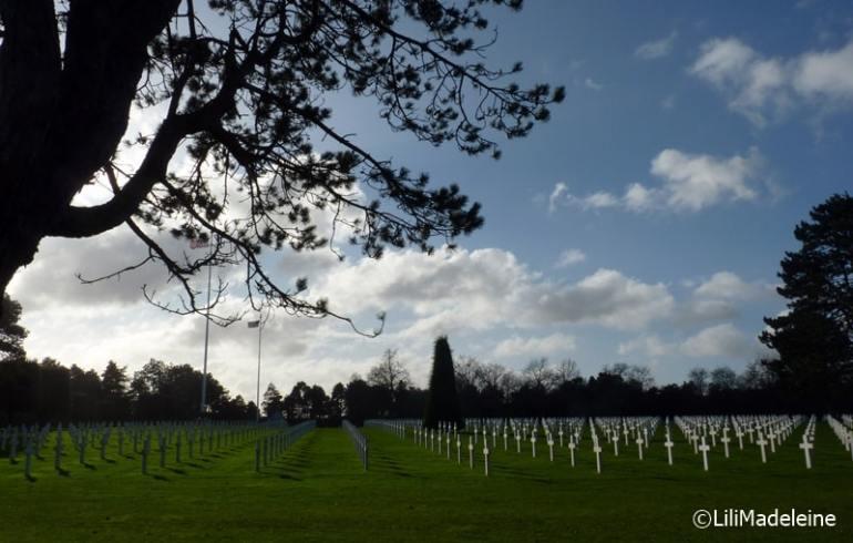 cimitero americano Normandia