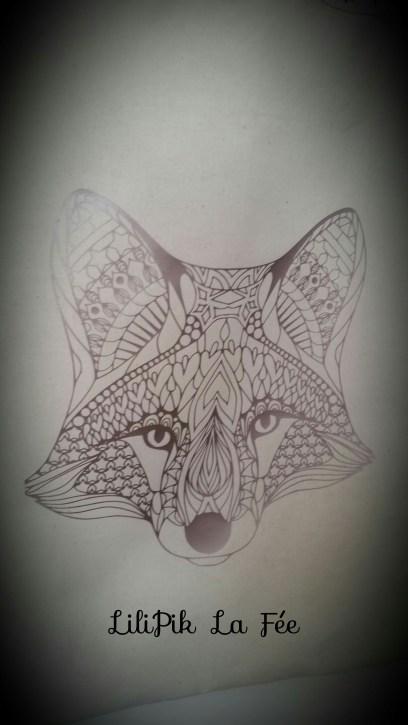 Flex tête de loup by LiliPik La Fée