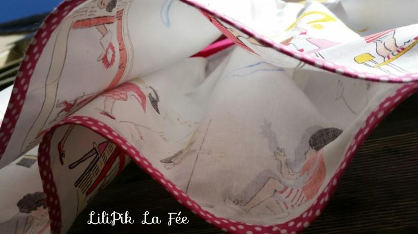 Izzy Top by LiliPik La Fée - Finition biais à cheval -