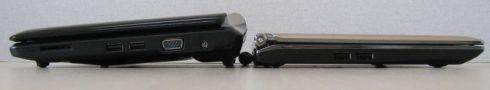 Asus Eee PC 1000H vs Asus Eee PC S101