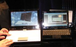 Left: Asus Eee PC T101 / Right: Asus Eee PC T91