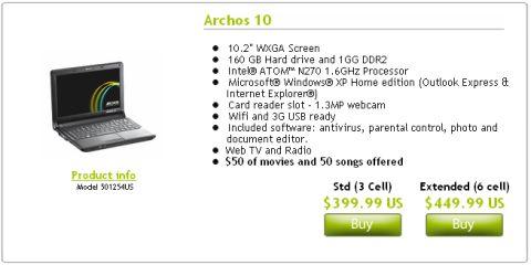 archos-10-for-sale