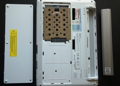 vaio w dissected