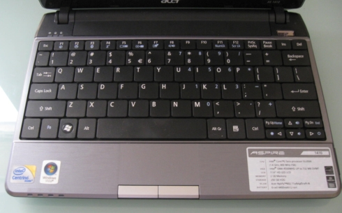 Acer Aspire 1410 Touchpad Mac