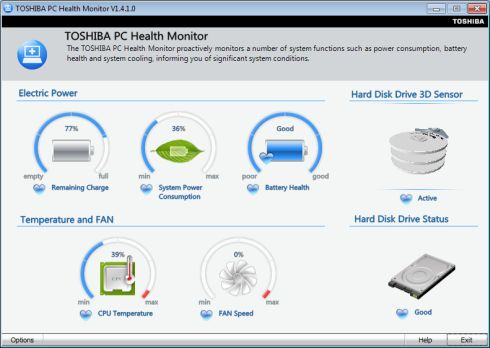 pc health monitor