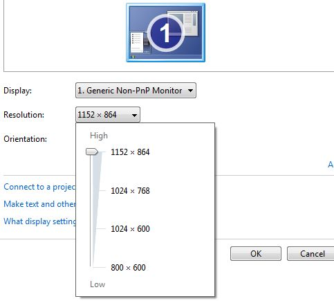 display1 downscalingsupported windows 7