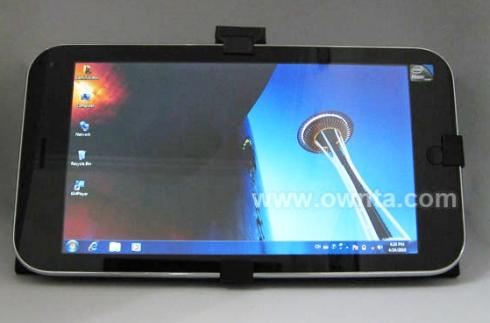 Jumper JK01-TT tablet runs Windows 7, ships with keyboard
