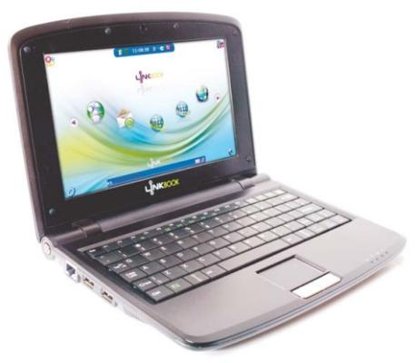 Linkbook 9 inch netbook with a PowerPC processor - Liliputing