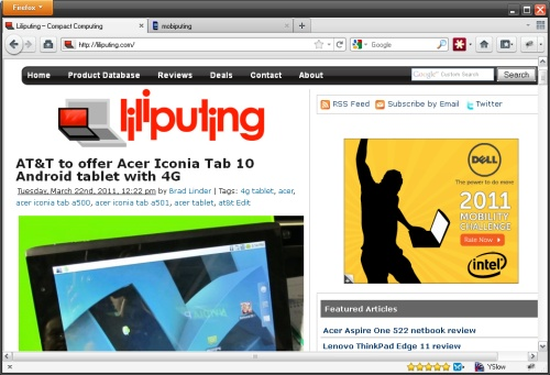 Mozilla launches Firefox 4 web browser for Windows, Mac, Linux