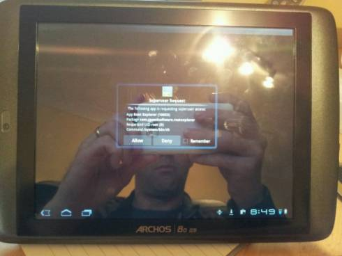 Archos 80 G9 rooted